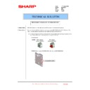 Sharp MX-FNX10 (serv.man36) Technical Bulletin