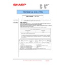 Sharp MX-FNX10 (serv.man37) Technical Bulletin