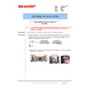 Sharp MX-FNX10 (serv.man38) Technical Bulletin