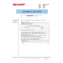 Sharp MX-FNX10 (serv.man39) Technical Bulletin