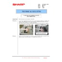 Sharp MX-FNX10 (serv.man40) Technical Bulletin