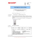 Sharp MX-FNX5 (serv.man10) Technical Bulletin