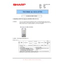 Sharp MX-FNX5 (serv.man11) Technical Bulletin
