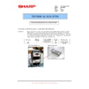 Sharp MX-FNX5 (serv.man13) Technical Bulletin