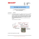 Sharp MX-FNX5 (serv.man14) Technical Bulletin