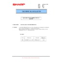 Sharp MX-FNX5 (serv.man9) Technical Bulletin