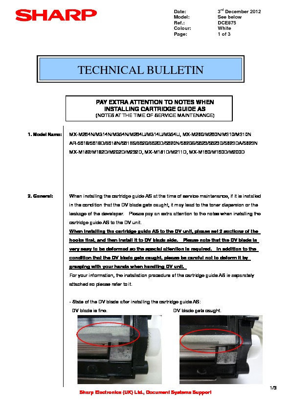 sharp mx m202d serv man34 technical bulletin free download pay rh servicemanuals us