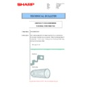 Sharp MX-M266N, MX-M316N, MX-M356N (serv.man104) Technical Bulletin