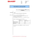 Sharp MX-M266N, MX-M316N, MX-M356N (serv.man108) Technical Bulletin