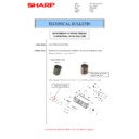 Sharp MX-M266N, MX-M316N, MX-M356N (serv.man111) Technical Bulletin