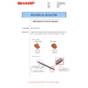 Sharp MX-M266N, MX-M316N, MX-M356N (serv.man112) Technical Bulletin
