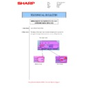 Sharp MX-M266N, MX-M316N, MX-M356N (serv.man113) Technical Bulletin