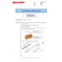 Sharp MX-M266N, MX-M316N, MX-M356N (serv.man118) Technical Bulletin