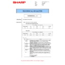 Sharp MX-M266N, MX-M316N, MX-M356N (serv.man120) Technical Bulletin