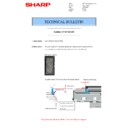 Sharp MX-M266N, MX-M316N, MX-M356N (serv.man121) Technical Bulletin