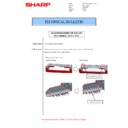 Sharp MX-M266N, MX-M316N, MX-M356N (serv.man123) Technical Bulletin