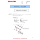 Sharp MX-M266N, MX-M316N, MX-M356N (serv.man130) Technical Bulletin