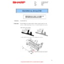 Sharp MX-M266N, MX-M316N, MX-M356N (serv.man132) Technical Bulletin