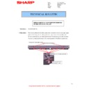 Sharp MX-M266N, MX-M316N, MX-M356N (serv.man140) Technical Bulletin