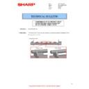 Sharp MX-M266N, MX-M316N, MX-M356N (serv.man143) Technical Bulletin