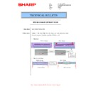 Sharp MX-M266N, MX-M316N, MX-M356N (serv.man51) Technical Bulletin