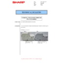 Sharp MX-M266N, MX-M316N, MX-M356N (serv.man60) Technical Bulletin