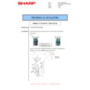 Sharp MX-M266N, MX-M316N, MX-M356N (serv.man61) Technical Bulletin