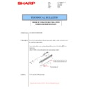 Sharp MX-M266N, MX-M316N, MX-M356N (serv.man65) Technical Bulletin