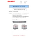 Sharp MX-M266N, MX-M316N, MX-M356N (serv.man69) Technical Bulletin