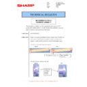 Sharp MX-M266N, MX-M316N, MX-M356N (serv.man79) Technical Bulletin
