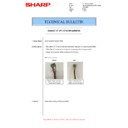 Sharp MX-M266N, MX-M316N, MX-M356N (serv.man87) Technical Bulletin