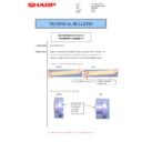 Sharp MX-M266N, MX-M316N, MX-M356N (serv.man91) Technical Bulletin