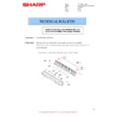 Sharp MX-M266N, MX-M316N, MX-M356N (serv.man94) Technical Bulletin