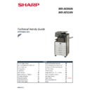 Sharp MX-M266N, MX-M316N, MX-M356N Handy Guide