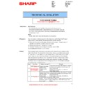 Sharp MX-M283N (serv.man14) Technical Bulletin