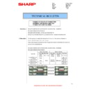 Sharp MX-M283N (serv.man27) Technical Bulletin