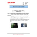 Sharp MX-M283N (serv.man30) Technical Bulletin