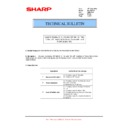 Sharp MX-M364N, MX-565N (serv.man106) Technical Bulletin