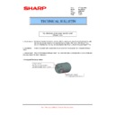 Sharp MX-M364N, MX-565N (serv.man107) Technical Bulletin