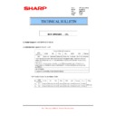 Sharp MX-M364N, MX-565N (serv.man112) Technical Bulletin