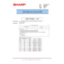 Sharp MX-M364N, MX-565N (serv.man41) Technical Bulletin