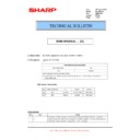 Sharp MX-M364N, MX-565N (serv.man58) Technical Bulletin