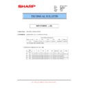 Sharp MX-M364N, MX-565N (serv.man59) Technical Bulletin