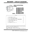 Sharp MX-M364N, MX-565N (serv.man6) Service Manual