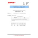 Sharp MX-M364N, MX-565N (serv.man63) Technical Bulletin