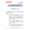 Sharp MX-M364N, MX-565N (serv.man75) Technical Bulletin