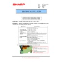 Sharp MX-M364N, MX-565N (serv.man76) Technical Bulletin