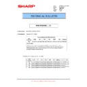 Sharp MX-M364N, MX-565N (serv.man78) Technical Bulletin