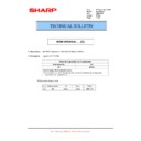 Sharp MX-M364N, MX-565N (serv.man79) Technical Bulletin