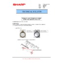 Sharp MX-M364N, MX-565N (serv.man85) Technical Bulletin